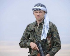 Jordan Matson, former U.S. soldier battles ISIS with the Kurds