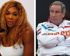 Serena Williams and Shamil Tarpischev