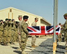 UK ends combat operations in Afghanistan