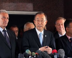 Ban Ki-moon Starts Inquiry on the Gaza Conflict