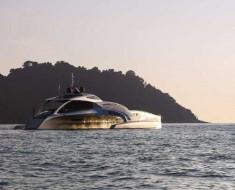 Adastra Superyacht - the long range Trimaran