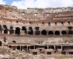 Colosseum vandal fined $31,000 for carving initials