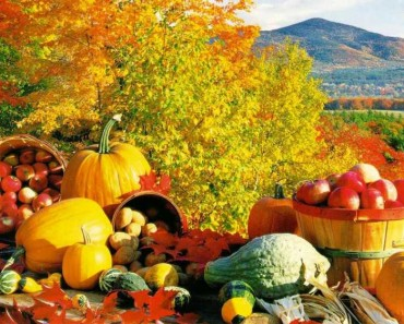 Eating healthy in autumn