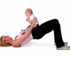 Post-pregnancy work-out tips