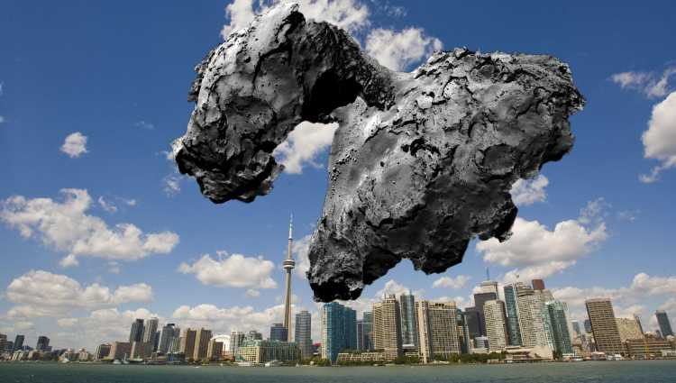 Rosetta Asteroid Los Angeles - Pics about space