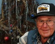 Neil Olson last adorned his Christmas Tree in 1974 in the hope of seeing all his six sons at home