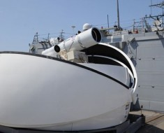 The US Navy is equipped with laser weapons