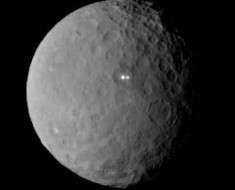 Ceres surface has two lights unknown in origin